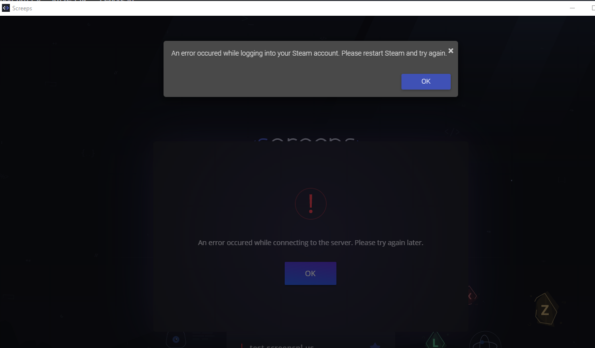 Connecting servers to error steam FIXED: There